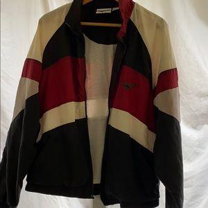 Men's vintage Reebok windbreaker track jacket